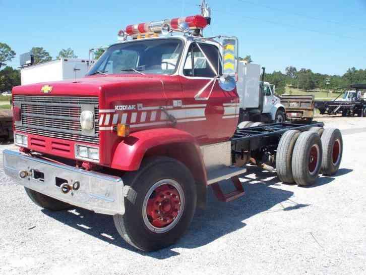 Chevrolet Kodiak 1985 Heavy Duty Trucks