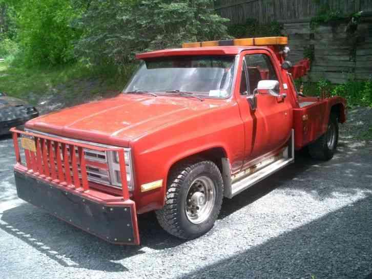 Chevrolet C30 (1985) : Wreckers