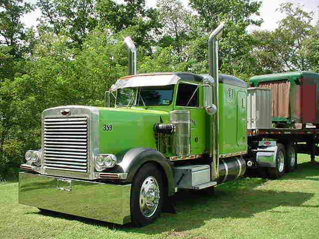 Peterbilt 359 1985 Sleeper Semi Trucks