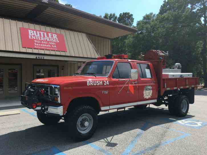 Used Tires Savannah Ga >> Ford F350 CREW CAB 4X4 (1986) : Emergency & Fire Trucks