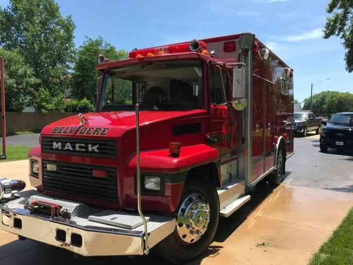 Trucks That Are Good On Gas >> Mack CS200 (1986) : Emergency & Fire Trucks