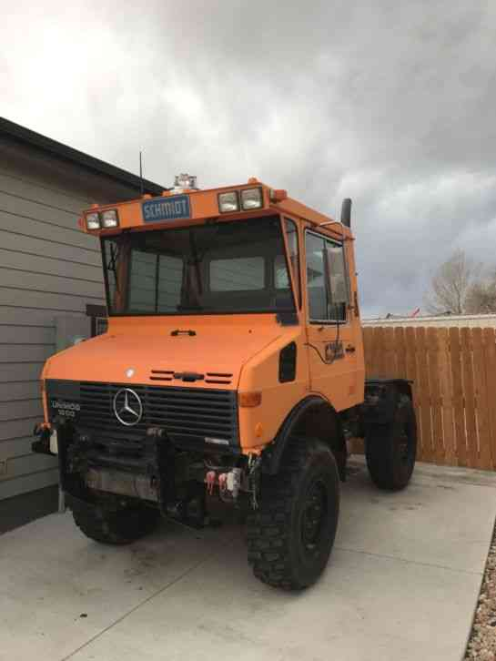 Mercedes benz 1986 daycab semi trucks for Mercedes benz semi trucks