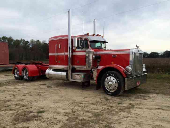 Used Bucket Trucks For Sale >> Peterbilt 359 EX Hood (1986) : Sleeper Semi Trucks