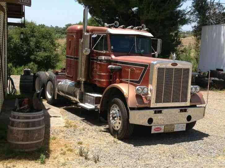 Peterbilt 359 steel frame (1986)