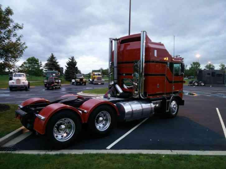 Air Bags For Trucks >> Kenworth K100E (1987) : Sleeper Semi Trucks