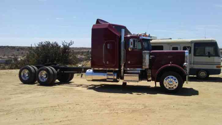 Peterbilt 359 Exhd 1987 Sleeper Semi Trucks