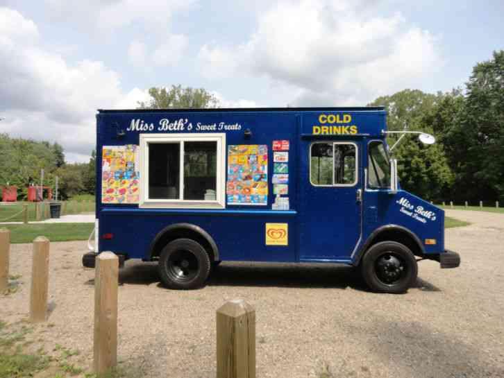 Chevrolet Ice Cream Truck 1988 Van Box Trucks