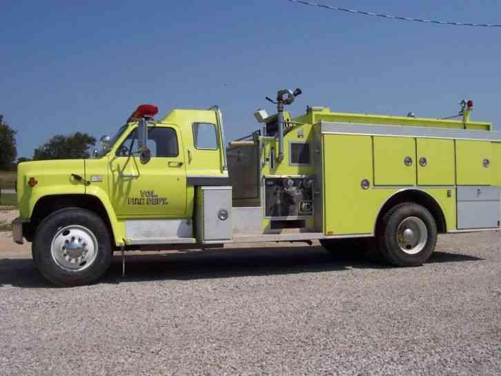 Chevrolet CHEV (1980) : Emergency & Fire Trucks