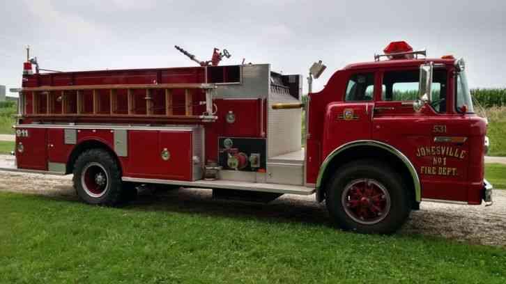 Ford C8000 1988 Emergency Amp Fire Trucks