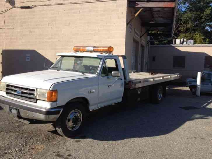 Ford f 350 1988 flatbeds rollbacks for Used tow motors for sale