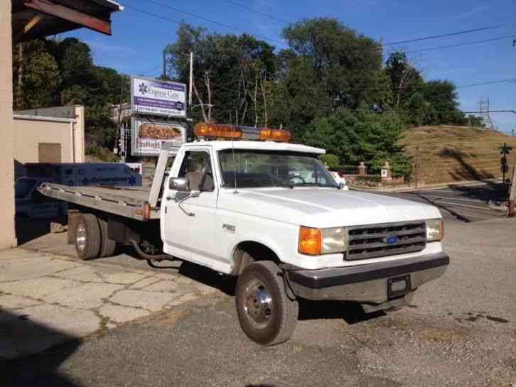 Ford F 350 1988 Flatbeds Rollbacks