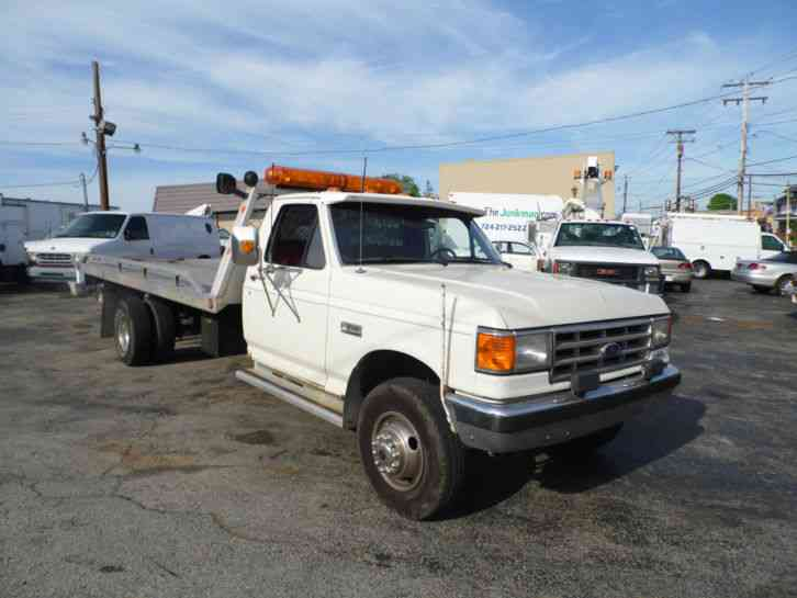 Ford F 450 1988 Flatbeds Rollbacks