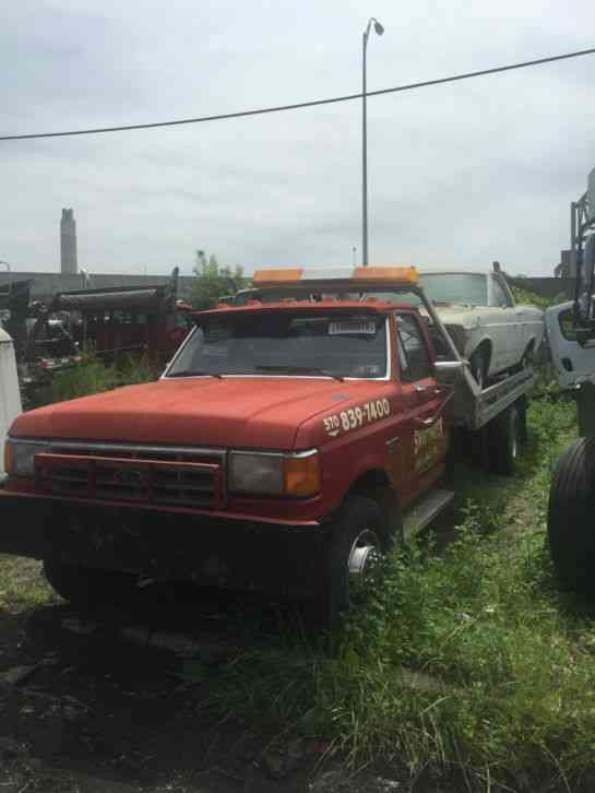 Ford f450 1988 flatbeds rollbacks for Used tow motors for sale