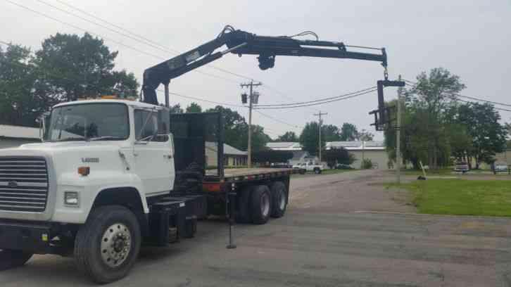 Crane Truck For Sale >> ford l9000 (1988) : Bucket / Boom Trucks