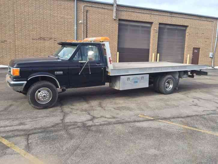 Flatbed Tow Truck >> Ford Rollback Tow Truck 1988 Flatbeds Rollbacks
