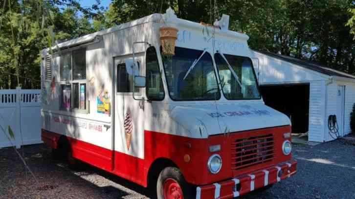Used Box Trucks For Sale By Owner >> Ford Ice Cream Truck (1988) : Van / Box Trucks