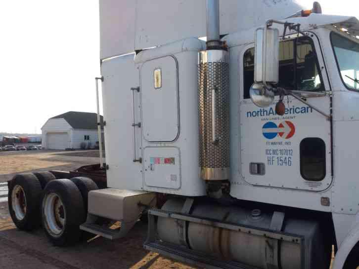 Freightliner Flc 1988 Sleeper Semi Trucks
