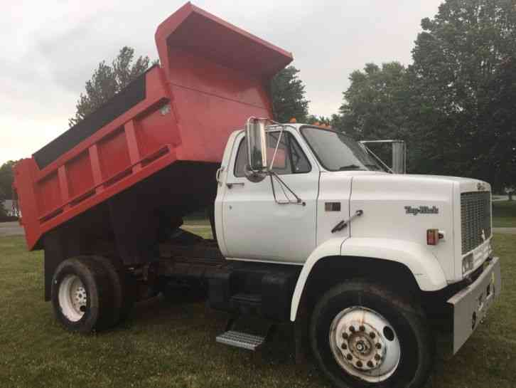 Gmc Topkick 1988 Heavy Duty Trucks