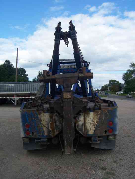 Heavy Tow Truck For Sale >> Kenworth semi wrecker 750 holmes and zacklift (1988 ...