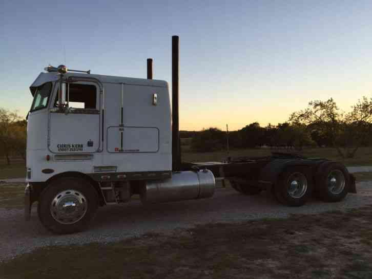 Peterbilt Coe 1988 Sleeper Semi Trucks