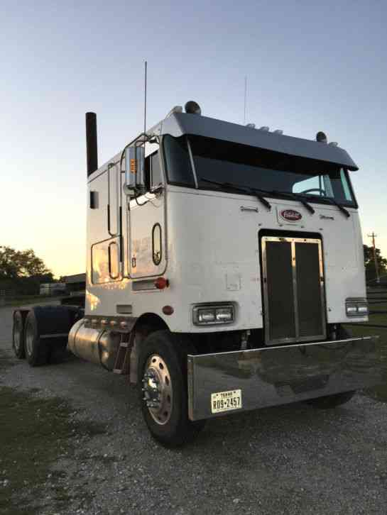 Peterbilt Coe 1988 Sleeper Semi Trucks