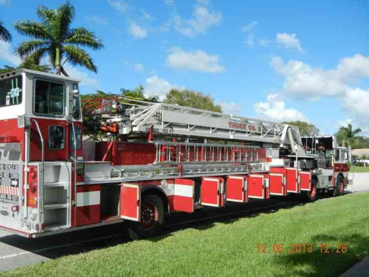 Pierce Dash 1988 Emergency Amp Fire Trucks
