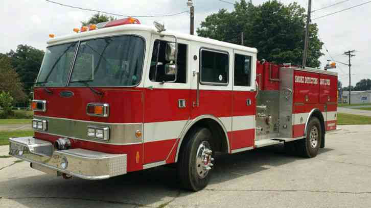 Pierce Arrow 1988 Emergency Amp Fire Trucks