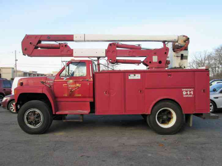 Reach All Bucket Truck Manual