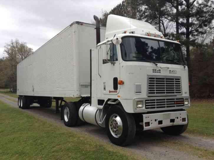 International 9670 1989 Daycab Semi Trucks