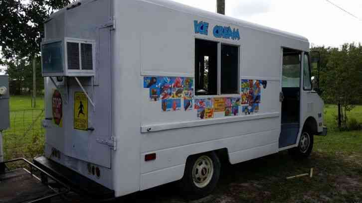 Ice Cream Truck For Sale >> Chevrolet P30 (1990) : Van / Box Trucks