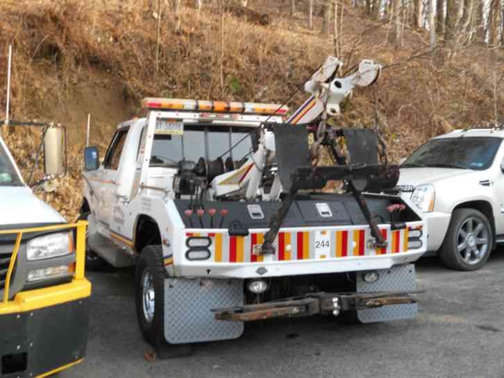 Truck Push Bar >> Ford F350 (1990) : Wreckers
