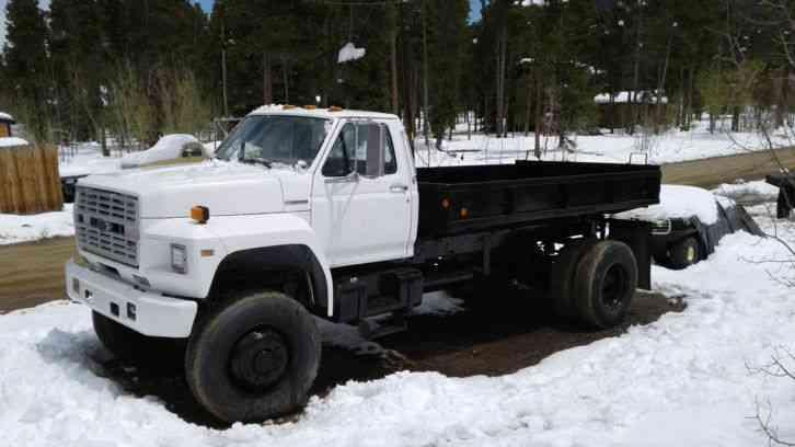 Ford F600 (1990) : Medium Trucks