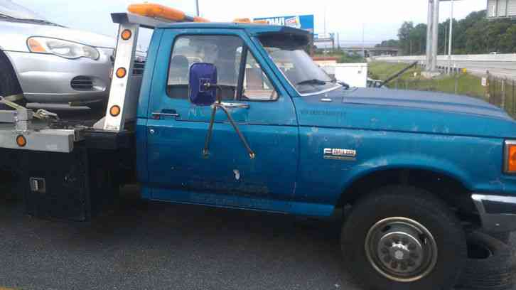 Ford Super Duty Custom (1990) : Flatbeds & Rollbacks