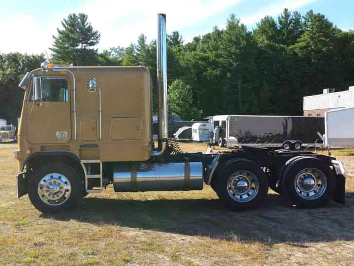 Cabover Trucks For Sale >> Freightliner Fla10464 1990 Sleeper Semi Trucks
