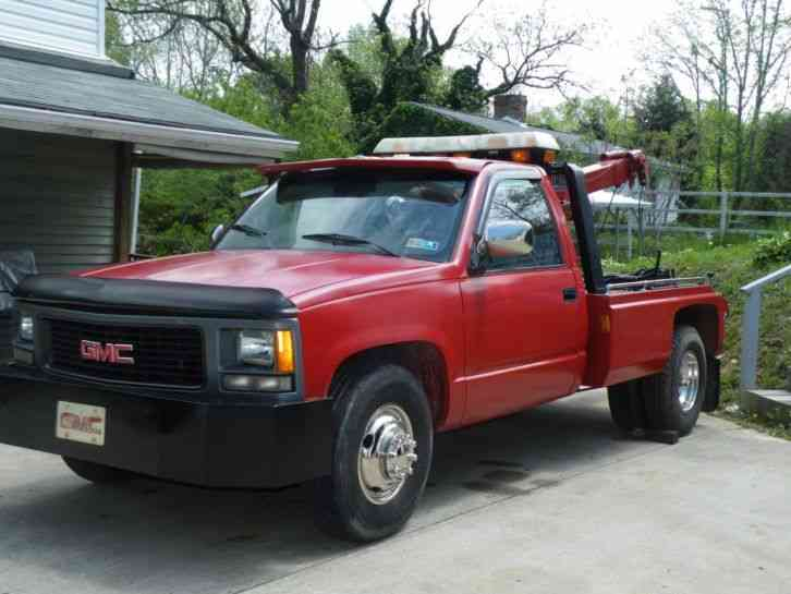 Gmc Tow Truck on 1990 Ford F450