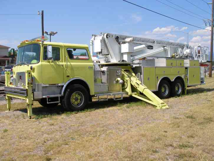 mack 1990 emergency fire trucks