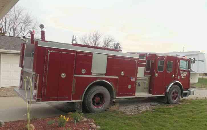 Mack Fire Truck 600mc600 1990 Emergency Amp Fire Trucks