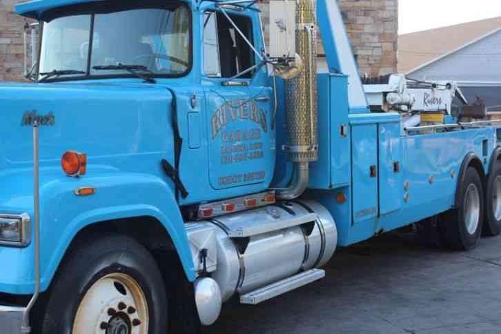 Mack Superliner For Sale >> Mack tractor (1990) : Wreckers