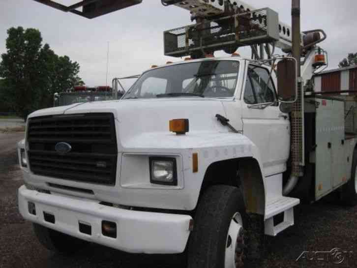 Ford F800 Die Auto Telsta T40c Cable Placer 1991
