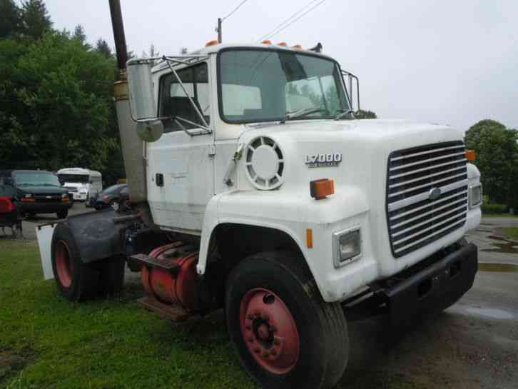 Ford L Single Axel Diesel Tractor Nice Running Old Truck In Vermont