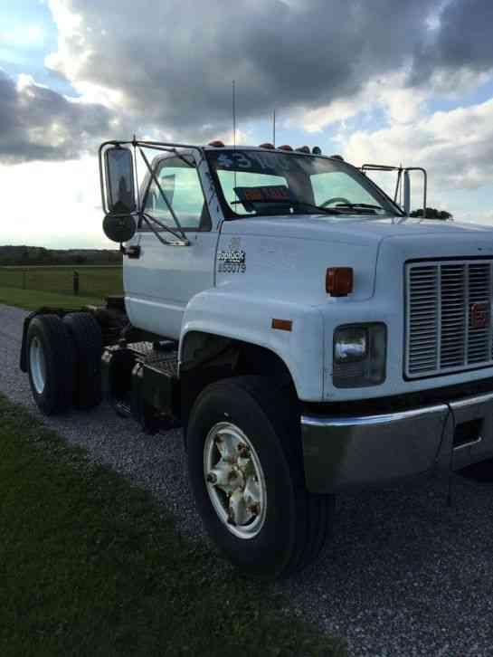 Gmc Used Trucks >> GMC TopKick (1991) : Daycab Semi Trucks