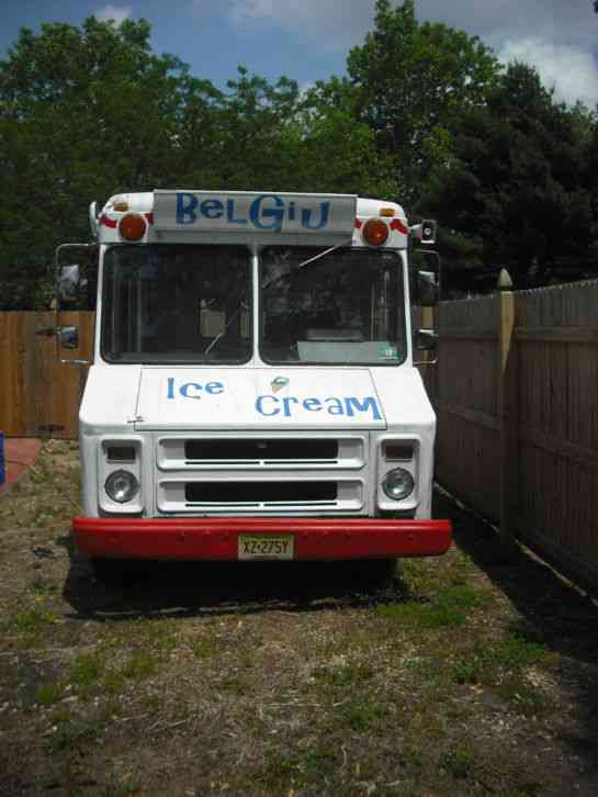 Gmc P3500 Value Van Ice Cream Truck  1991    Van    Box Trucks