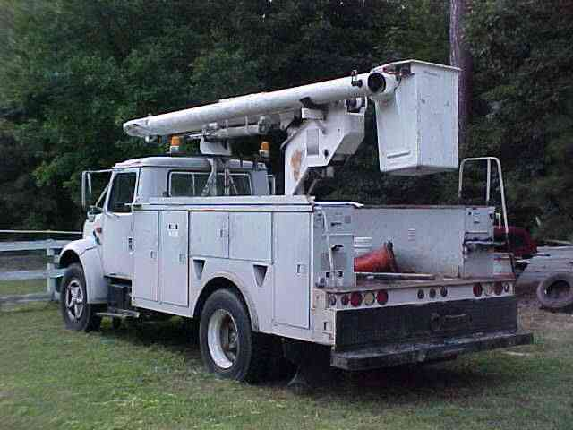 International Boom Bucket Truck 1991 Bucket Boom Trucks