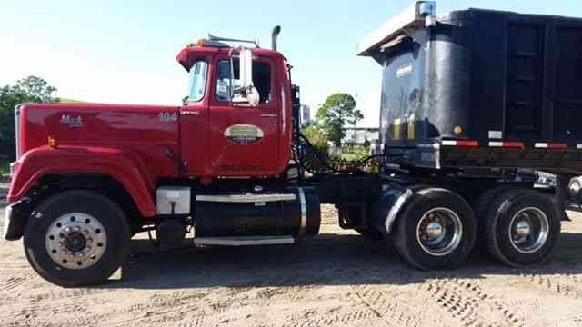 Mack Truck Wet Kit : Mack superliner daycab semi trucks