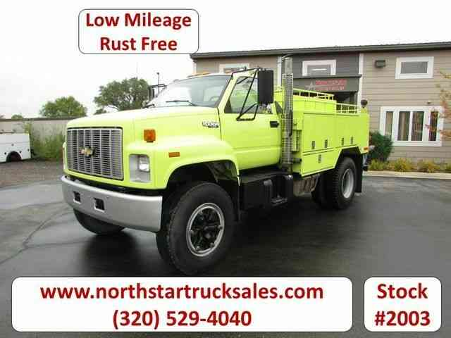 Chevrolet Kodiak C70 CAT Water Truck -- (1992)