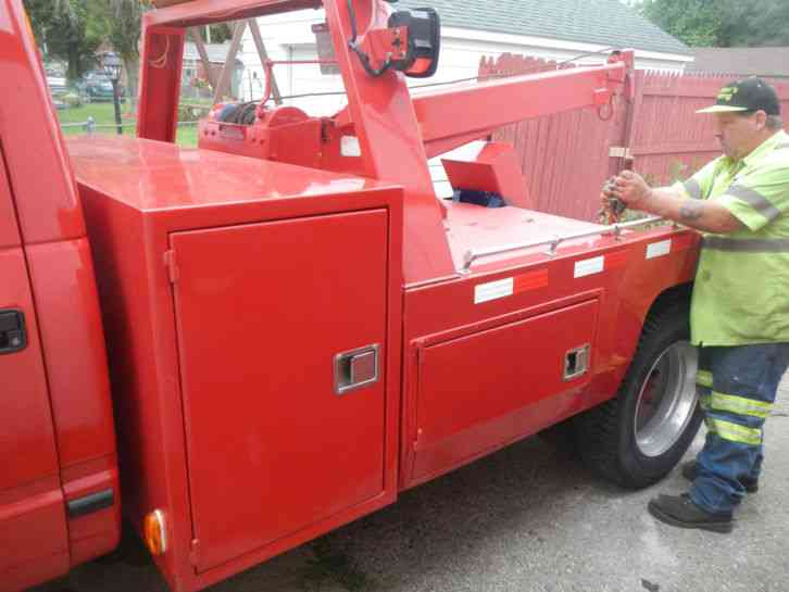 Chevy 3500 Tow Truck 1992 Wreckers