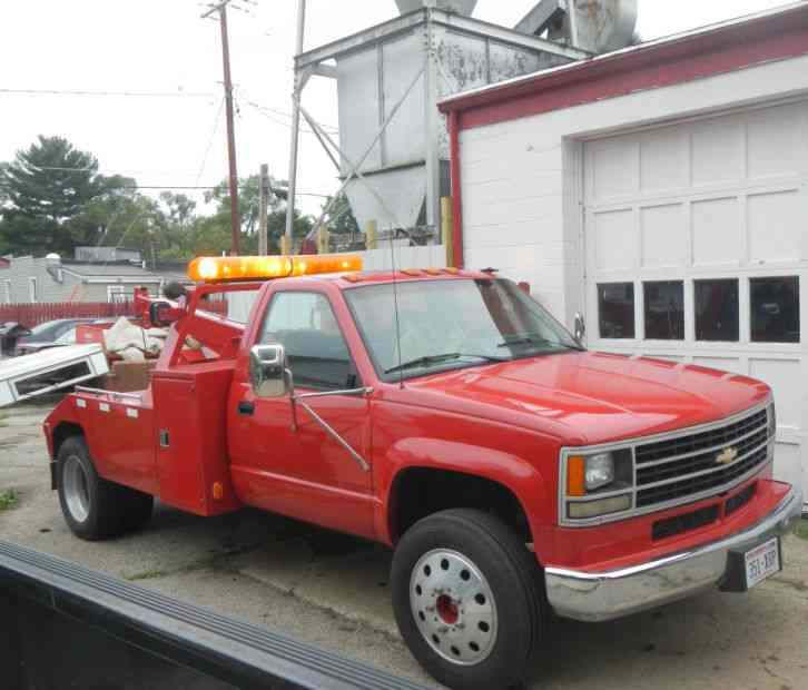 1992 Gmc 3500 Regular Cab Interior: Chevy 3500 Tow Truck (1992) : Wreckers