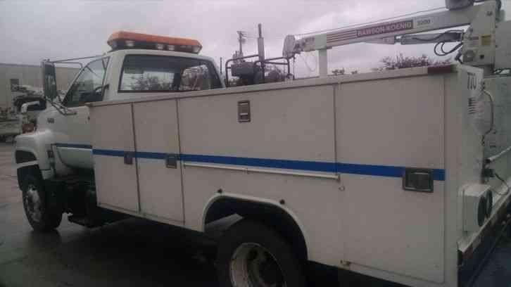 Gmc Topkick Service Boom Truck