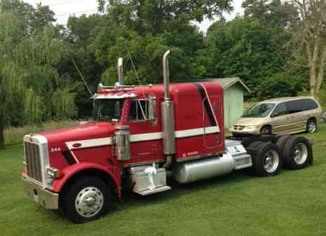 Peterbilt 379 Exhd 1989 Sleeper Semi Trucks