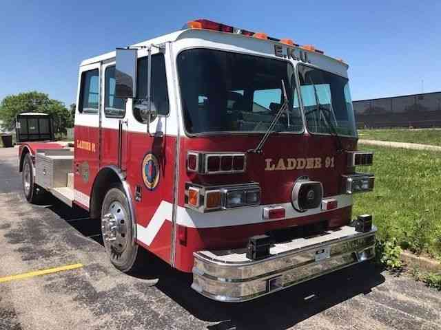 Sutphen Tiller 1992 Emergency Amp Fire Trucks